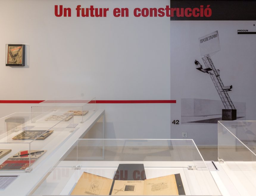 A future in construction. The soviet book in the IVAM. LIBRARY