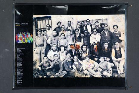 """Fotografía de la exposición 'Imatges del Passat' del Museu del Taulell """"Manolo Safont"""" de Onda."""