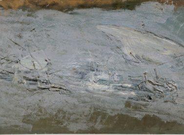 Ignacio Pinazo / Barcas en blanco, s.f
