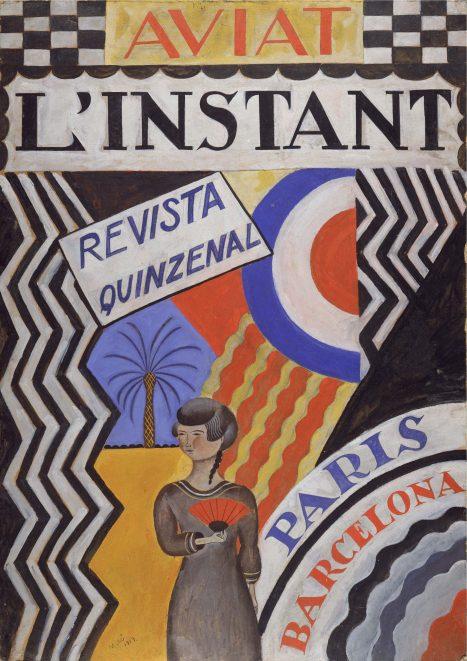 JOAN MIRÓ / Aviat l'instant, 1919. IVAM. © Successió Miró 2018