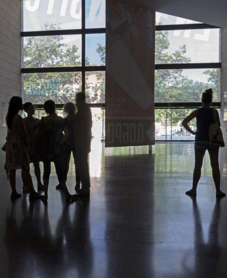 Vista del hall del IVAM