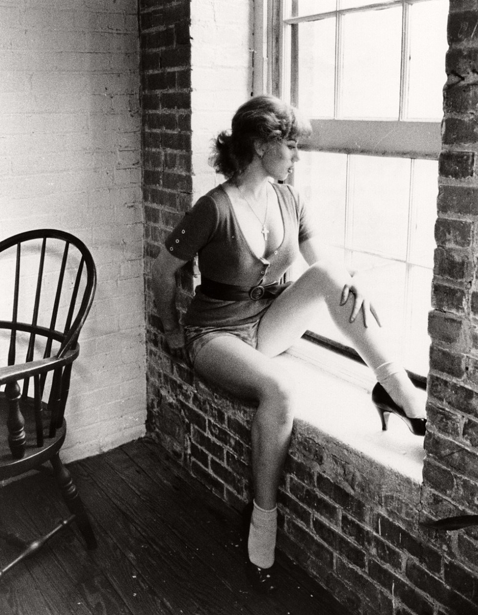 Cindy Sherman / Untitled, Film Still n. 15 (Sin título, Fotograma nº 15), 1978