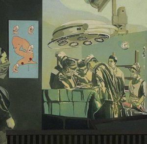 """Isabel Oliver / Cirugía. De la serie """"La mujer"""", 1970-1973"""
