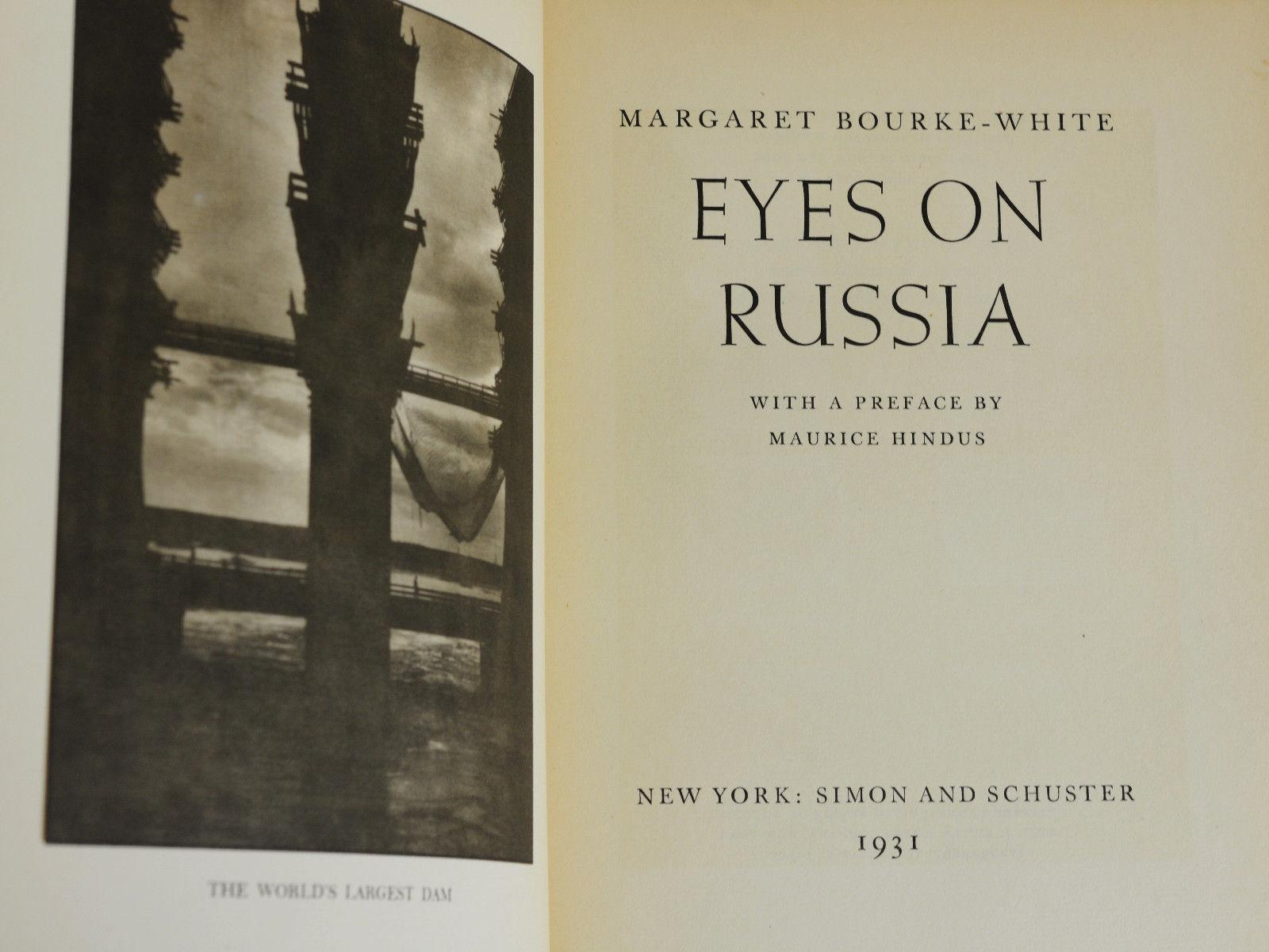 Margaret Bourke-White / Eyes on Russia. Nueva York: Simon and Schuster, 1931